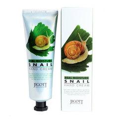 Jigott Real Moisture Snail Hand Cream - Крем для рук с экстрактом слизи улитки