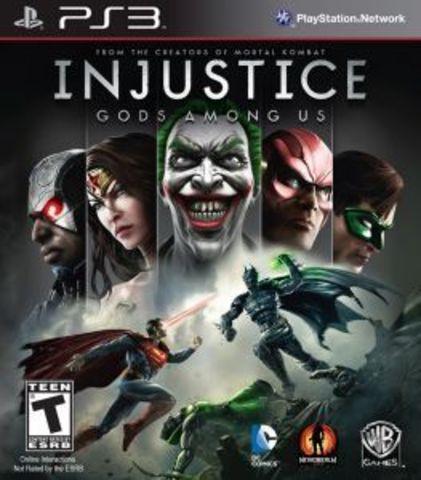 PS3 Injustice: Gods Among (русские субтитры)