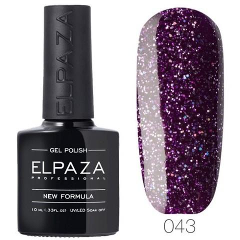 Гель лак Elpaza 043 Пурпурный дождь