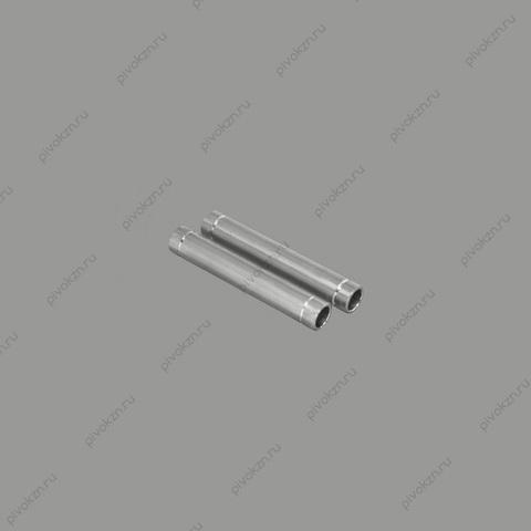 Набор штуцеров с накаткой с двух сторон, 50 мм