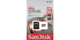 MicroSDHC 32GB SanDisk UHS-I 80MB/s (SD адаптер) блистер