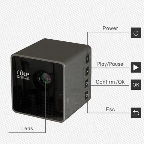 Проектор UNIC P1 Wi-Fi уценка