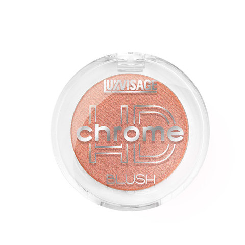 LuxVisage HD Chrome Румяна для лица тон 104 (Королевский коралл)