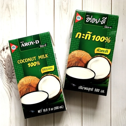 Молоко кокосовое, 0,5 л. AROY-D (ТАИЛАНД)