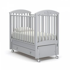 Кровать детская Марсель белая ночь