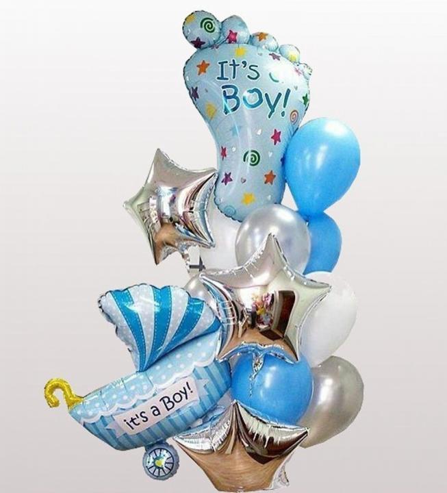Фотозоны из шаров Композиция воздушных шаров №31 букет_31.jpg