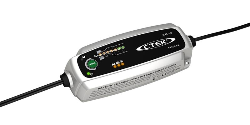 Зарядное устройство для 12В АКБ (7 этапов, 1,2‐130Aч) МXS 3.8