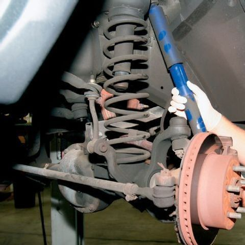 Замена амортизаторов Jeep Grand Cherokee