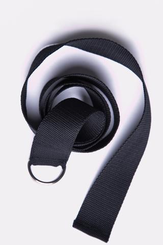 Ремень чёрный (140 см).