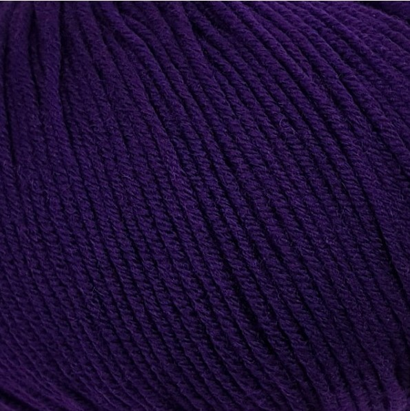 Пряжа Lana Gatto Maxi Soft 19045 фиолетовый ирис