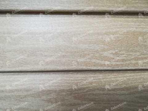 Сайдинг Ю пласт Тимберблок акриловый янтарный кедр 3050х230 мм