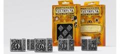 Metal Steampunk 5D6 Dice (5)