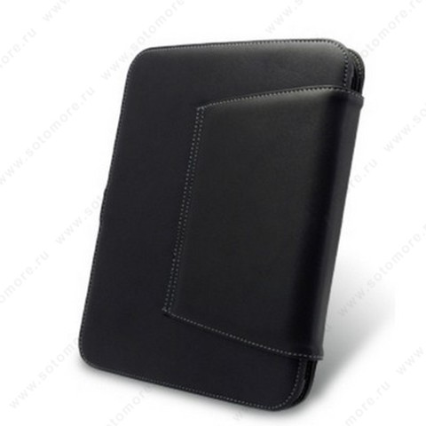 Чехол-флип Melkco для HP TouchPad 9.7 Leather Case Book Type (Black)