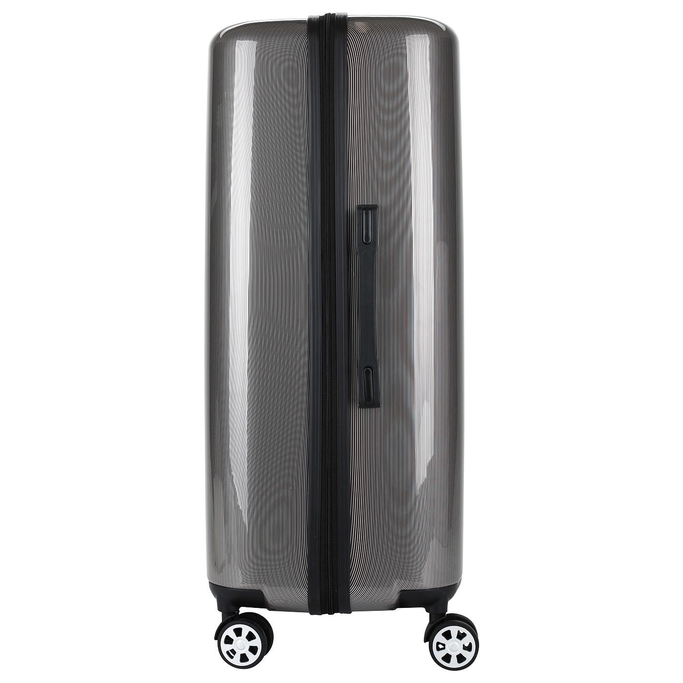 Чемодан SunVoyage Elit SV038-AC065 Серебро/Черный (XL)