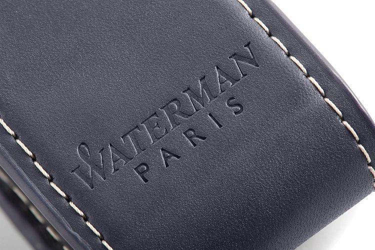 Чехол для ручки кожаный Waterman, черный