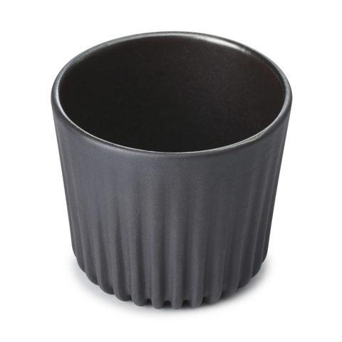 Фарфоровый набор чашек, черный, артикул 653611, серия Pekoe