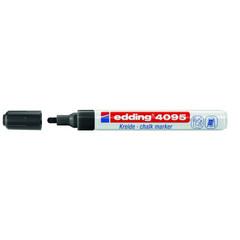 Маркер меловой Edding E-4095 черный 3 мм