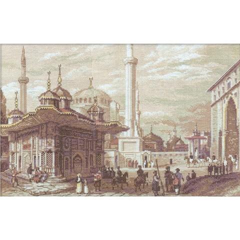 Стамбул. Фонтан султана Ахмета
