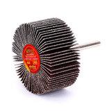 Круг MESSER шлифовальный лепестковый с оправкой (на шпильке) 60х30х6  #60
