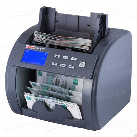Счетчик банкнот DoCash 3400 Heavy Duty SD/UV