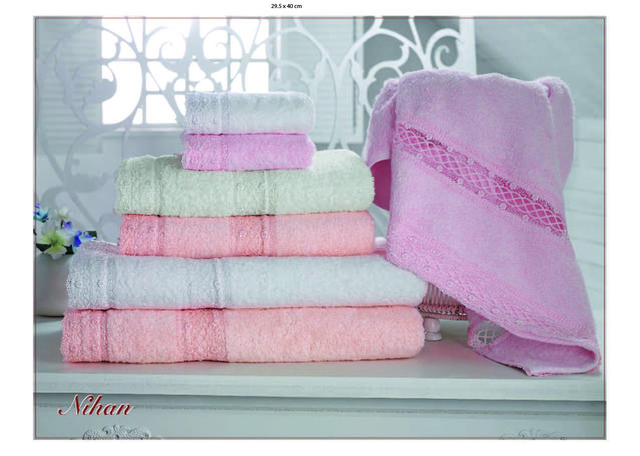 Наборы полотенец Набор полотенец  NIHAN - НИХАН 3пр 30х50 50х90 и 70х140 Maison Dor (Турция) NIHAN_SET.jpg