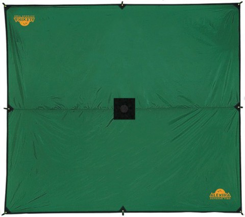 Картинка тент Alexika AWNING 6M X 5M green