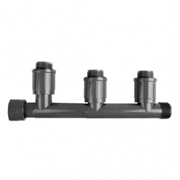 Коллектор для 3-х клапанов автополива 1
