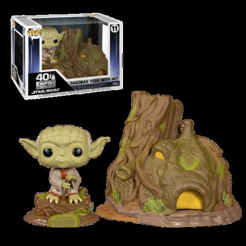 Dagobah Yoda with Hut Funko Pop! || Хижина Йоды на Дагобе