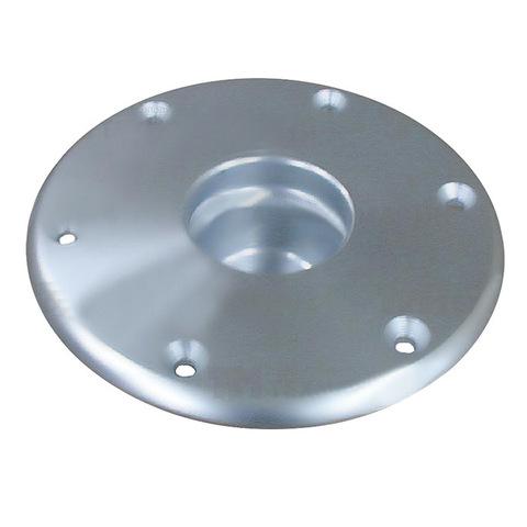 Основание стойки столешницы врезное, 178 х 45 х 80 мм, алюминий