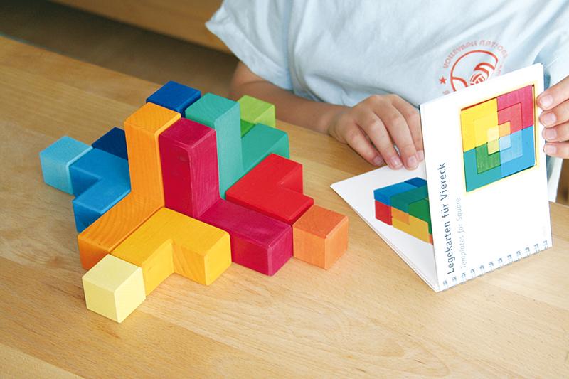 Буклет с описанием игр для мозаики Квадрат