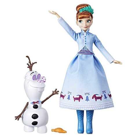 Кукла Анна Приключение Олафа магия кукол