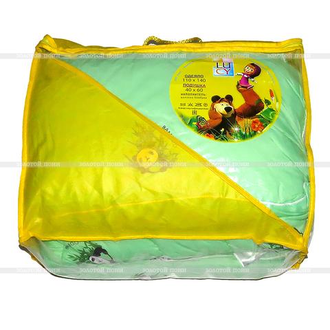 Набор одеяло+подушка в детскую кроватку ZPS-OFDek-032