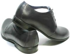 Выпускные туфли темно синие мужские Ikos 060-4 ClassicBlue.