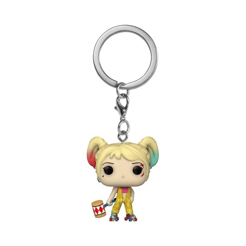 Брелок Funko Pocket POP! Keychain: Birds of Prey: Harley Quinn (Boobytrap Battle) 44381-PDQ