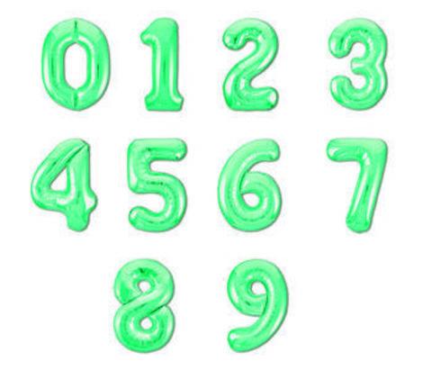 шар цифры байкальский зеленый