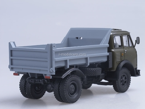 MAZ-503A tipper 1975 green-gray 1:43 Nash Avtoprom