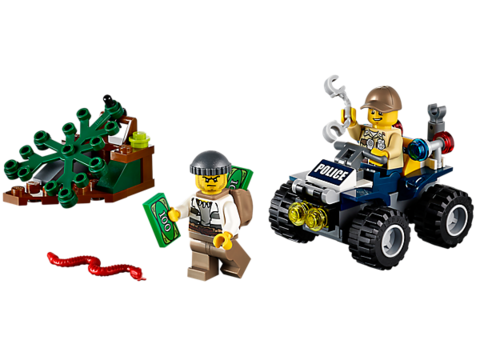 LEGO City: Патрульный вездеход 60065 — ATV Patrol — Лего Сити Город