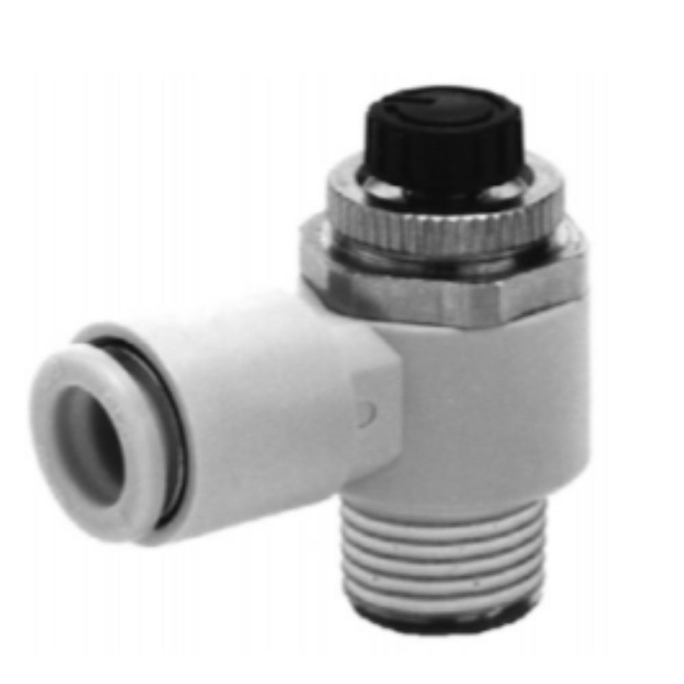 AS4201FG-04-10S  Дроссель с обратным клапаном, R1/2