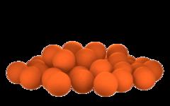 Бойлы насад. плав. Sonik Baits ORANGE-TANGERINE Oil Fluo Pop-ups 14мм 90мл