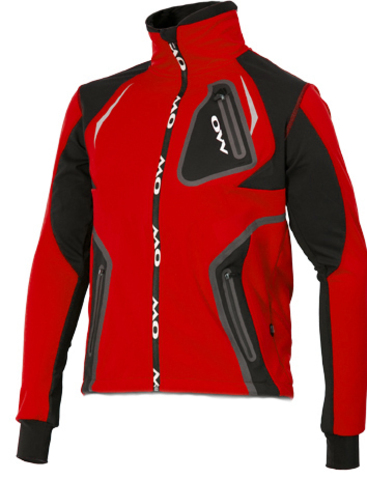 Лыжная разминочная куртка One Way - Carnic red унисекс