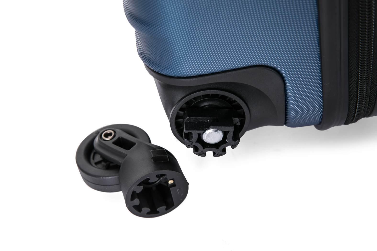 Чемодан со съемными колесами L'case Phatthaya-28 Темно-синий (L)