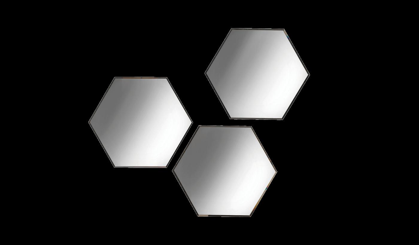 Зеркало VALENTE (60x52x2,1) грецкий орех