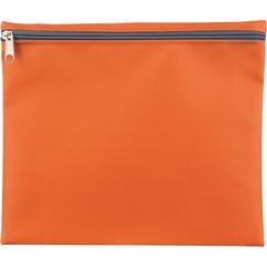 Папка-конверт Attache Fantasy на молнии А5 оранжевая 0,15 мм