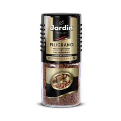 Кофе растворимый Jardin Filigrano сублимированный с добавлением молотого 95 г (стекло)