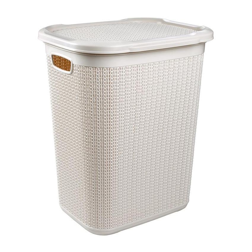 Пласт.корзина д/грязного белья 50 л. Ucsan m-079
