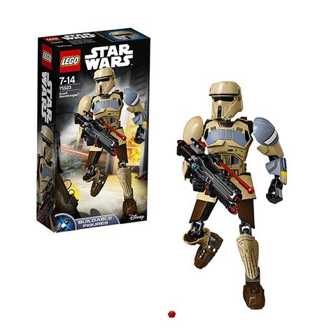 LEGO Star Wars: Штурмовик со Скафира 75523 — Scarif Stormtrooper — Лего Звездные войны Стар Ворз