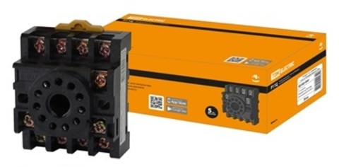 Разьем Р11Ц - цокольный 11-pin на DIN-рейку/плоскость TDM