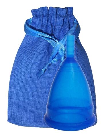 Менструальная чаша CupLee S, Синяя