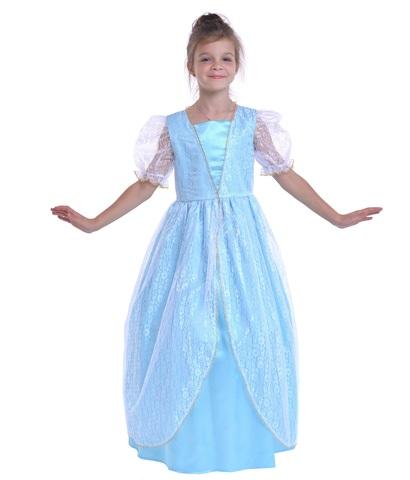 Костюм Принцесса голубая
