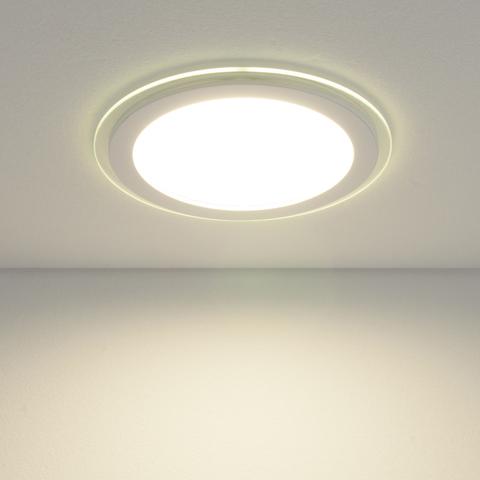 Встраиваемый потолочный светодиодный светильник DLKR200 18W 4200K белый